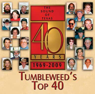 CD Cover of Tumbleweed's Top 40